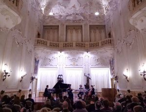 Concert at Accademia Chigiana in Siena ( Italy )